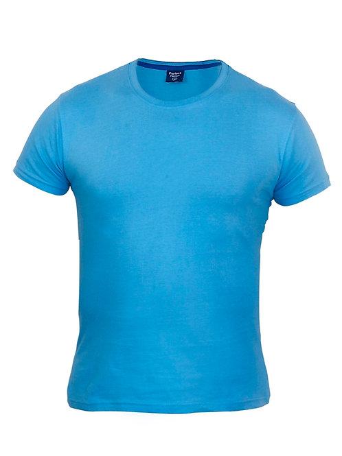 חולצת טי-שירט - גזרה עגולה