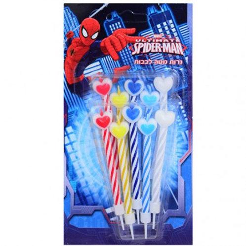 נרות ספיידרמן