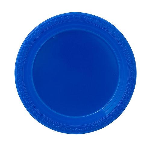 צלחת כחול עמוק