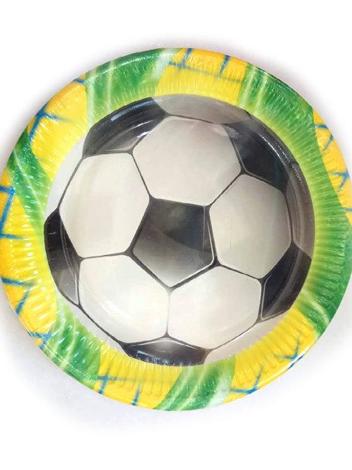 צלחות כדורגל