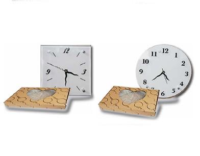 שעון זכוכית עם מנגנון