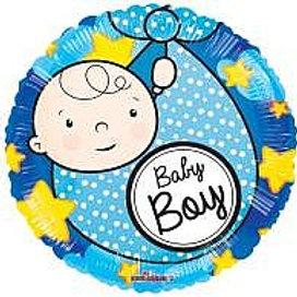 מיילר עגול תינוק כחול