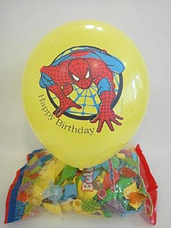 בלוני ספיידרמן HAPPY BIRTHDAY