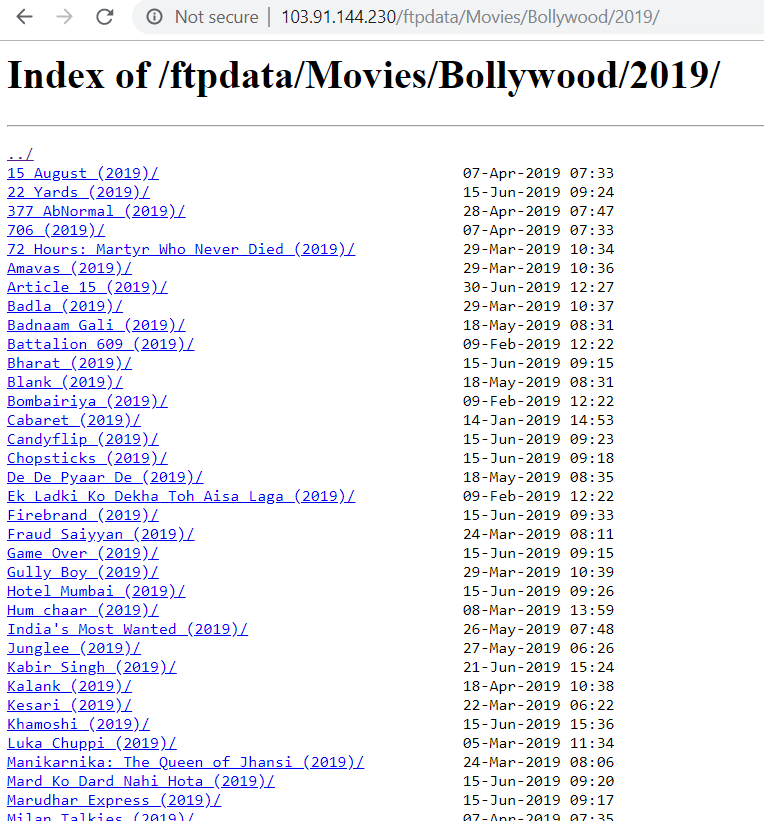 Image showing indexed webpage