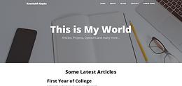 Blogging Website (Flask)