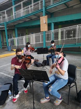 Seccion de los 2dos Violines