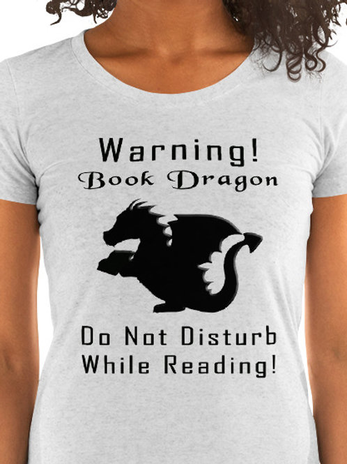 Warning! Book Dragon. Do Not Disturb While Reading!