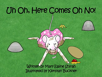 Children's picture book about a clumsy mouse
