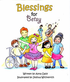 Blessings for Betsy picture book