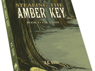Stealing the Amber Key: Book One of the Xandi