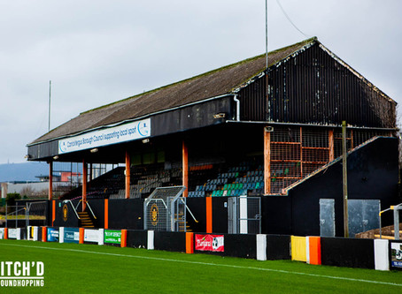 GROUND // Loughshore Hotel Arena - Carrick Rangers FC (Northern Ireland)