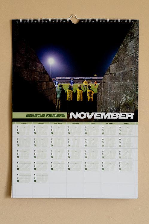 Football season 21-22 calendar (A3 size)