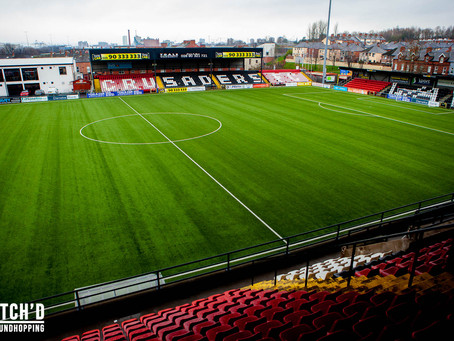 GROUND // Seaview Stadium - Crusaders FC (Northern Ireland)