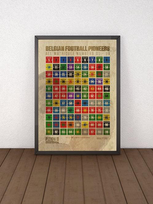Matricule poster