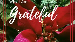 Why I Am Grateful