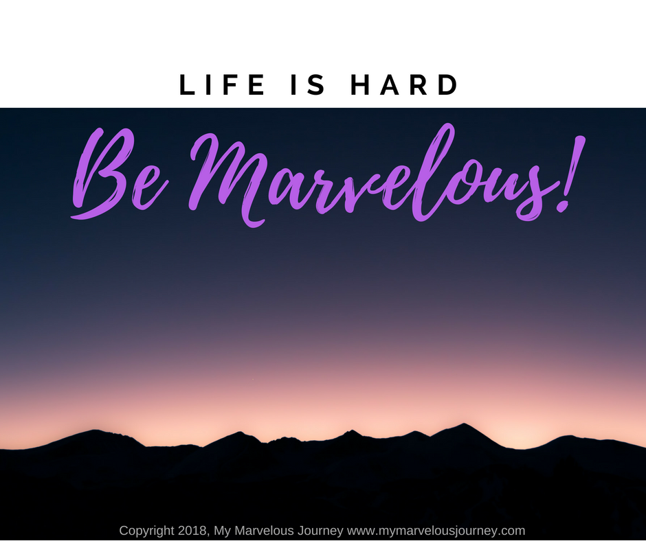 Be Marvelous