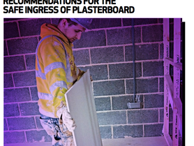 Preventing MSDs - new best practice guide to Plasterboard Handling