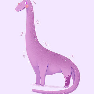 🦕 A lil Dinosaur commission for a lovel