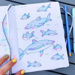 Shark Bait OOH AH AH 🦈- I love how thes