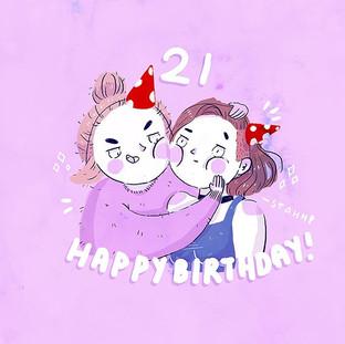 Happy birthday to my Not-so-little-siste