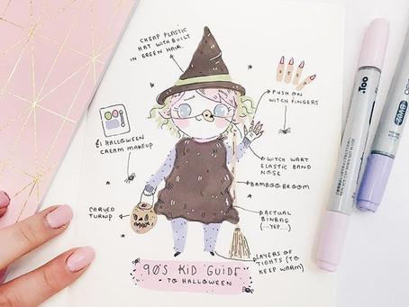 A 90's Kid Guide to Halloween - Bin Bags & Turnips