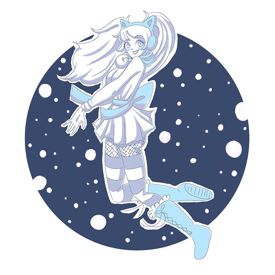 Sunny Con - Winter Mascot