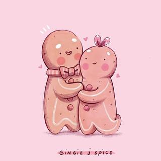 Gingie & Spice 💖🌸✨ Hehehehe I'm so exc
