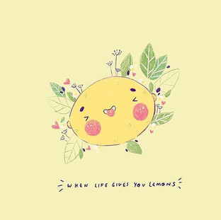 I love this quote! It's such a classic! And lemons are cute 🍋 at least this one is 🤣🍋
