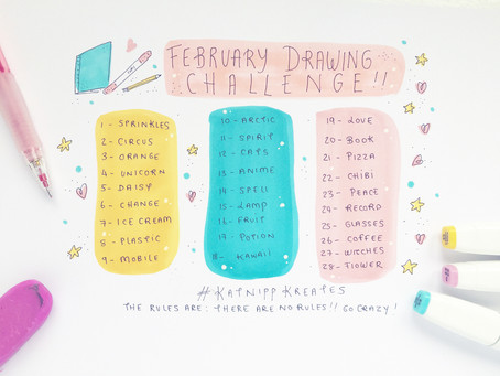 February Drawing Challenge and why you should join in!