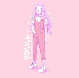 Lucy And Yak Designer Clothing Illustration