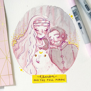 Inktober day Five!!! - 🌑 okay guys this one was a disaster for me!! I totally ran out of time! And the illustration just didn't come out how