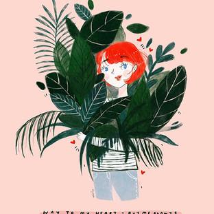 Today's illustration! I've been really e