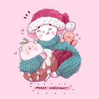 MERRY FRICKEN CHRISTMAS 😭🎄🎄🎄✨ thank
