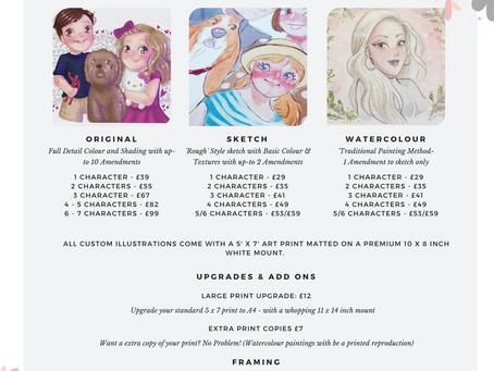New Pricelist & The Christmas Madness!