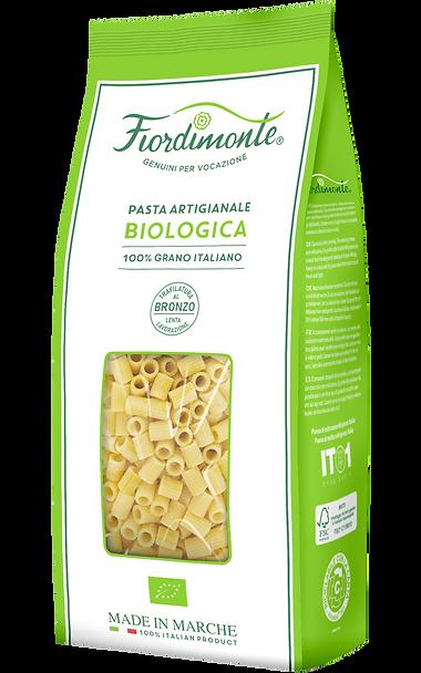 Tubetti Rigati Pasta Fiordimonte Biologica Classica