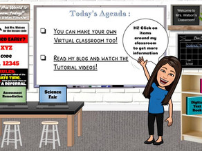 Bitmoji Virtual Classrooms - Game Changers in the Age of Distance Learning