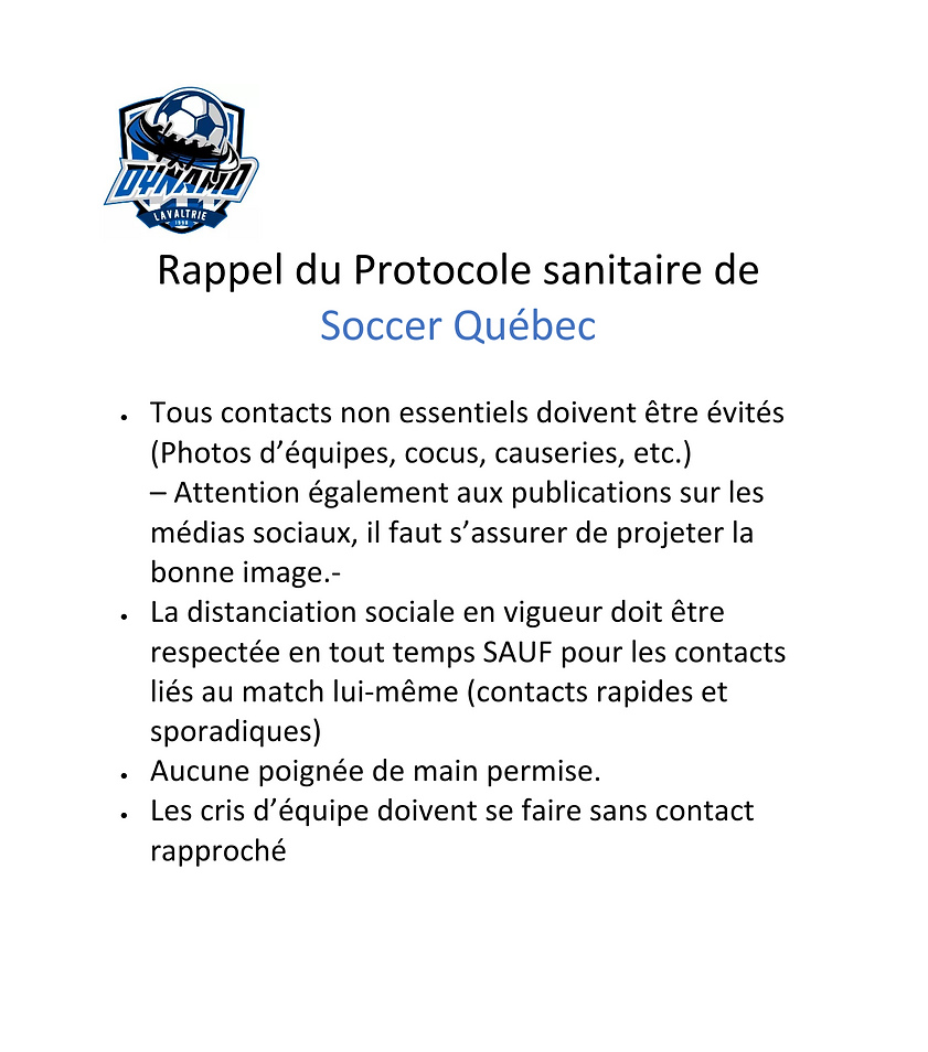 Rappel_protocole_sanitaire_Socer_Québec