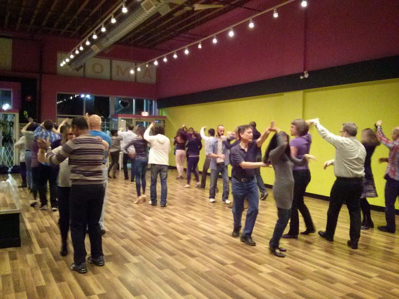 Salsa class in Amor Fitness in Surrey