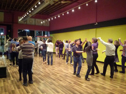 Salsa class in Amor Fitness in Surrey
