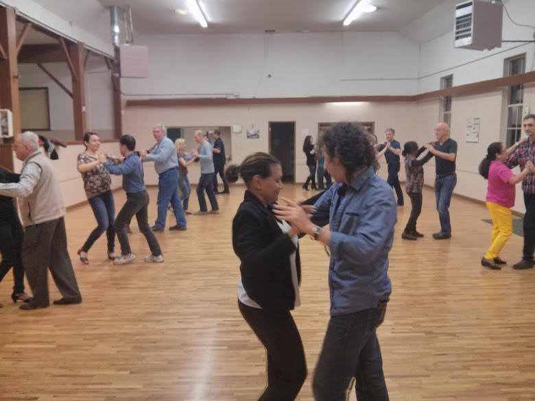 Salsa Class at Sullivan Hall in Surrey