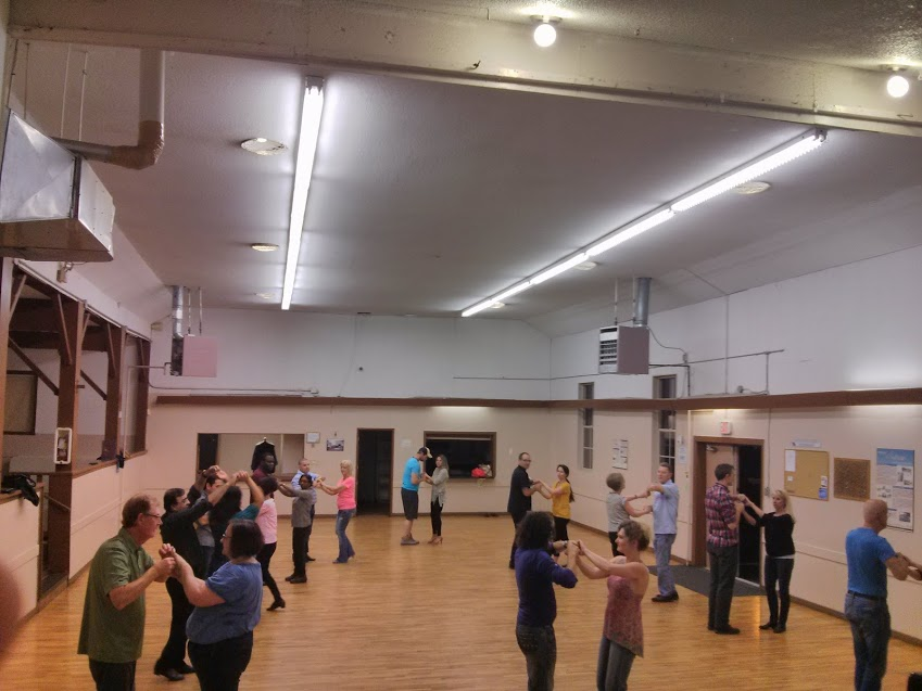 Salsa Class at Sullivan Community Hall in Surrey