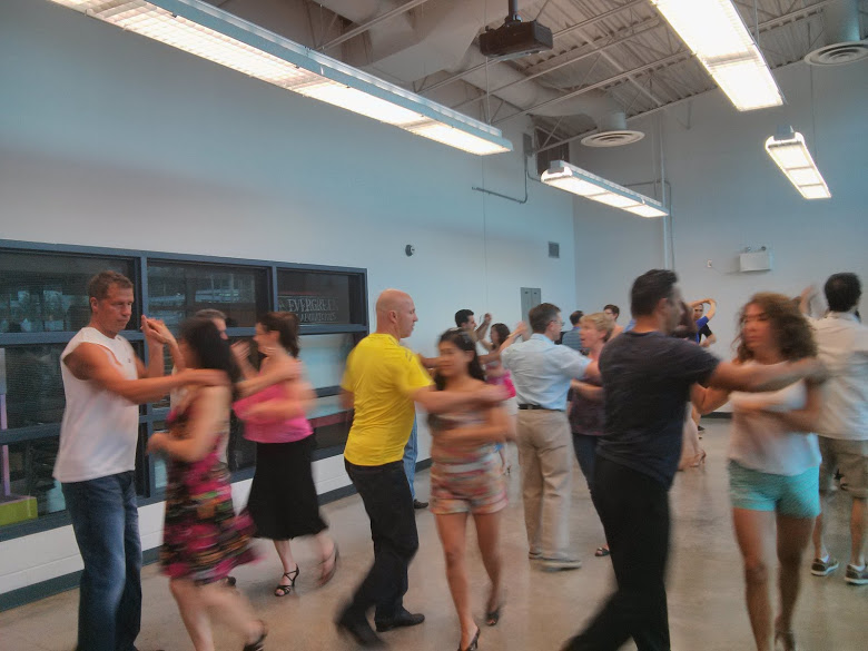 Salsa Class at Evergreen Cultural Centre in Coquitlam