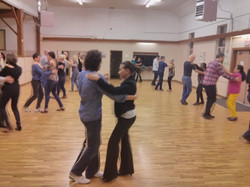 Salsa classes at Sullivan Hall in Surrey