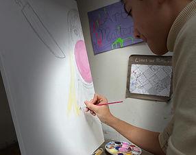 RAP art portfolio audition preparation