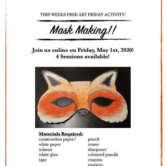 Free Art (Mask Making) (2pm)