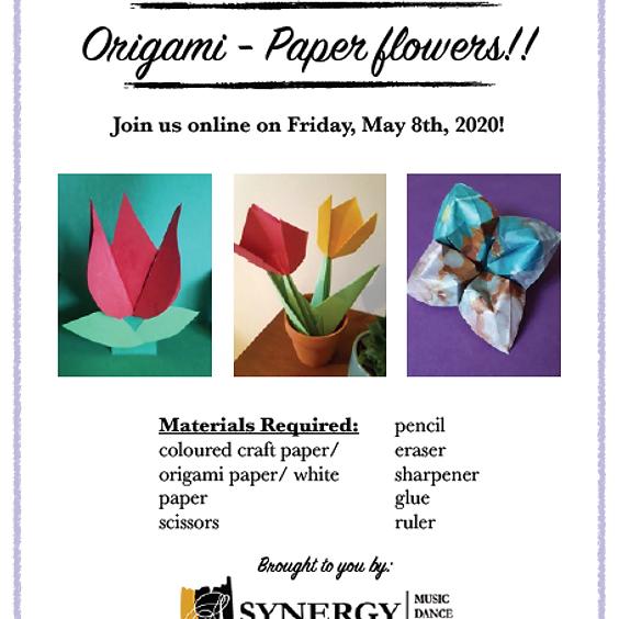 Art - Origami Flowers (1pm)