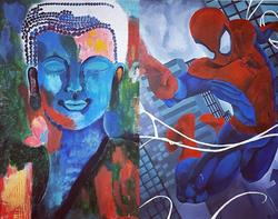 Spiderman - semi private art