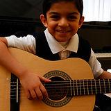Kid Guitar Lesson