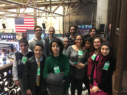 My Club activity: NYSE visit. Learn more