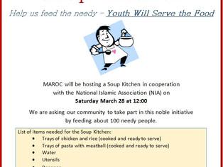 MAROC's Soup Kitchen - Help Us Feed the Needy